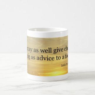 Cherries Irish Proverb Classic White Coffee Mug