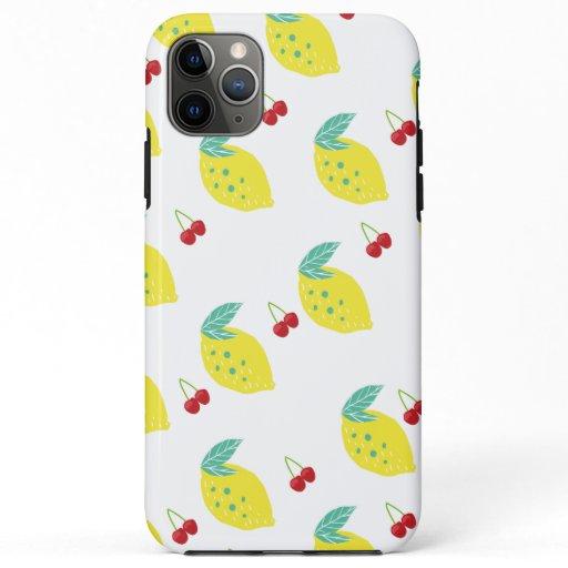 Cherries Jublie iPhone Case