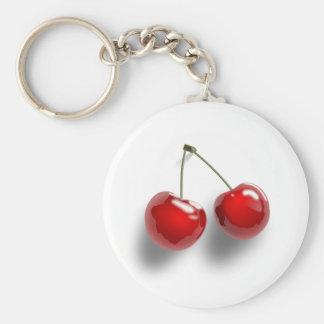 Cherries Keychain