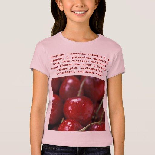 Cherries kids shirt