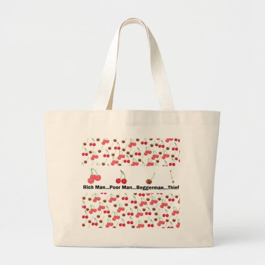Cherries! Large Tote Bag