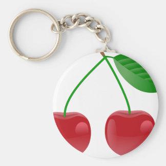 cherries look good on everything! keychain