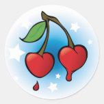 Cherries Love - Sticker