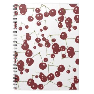 Cherries Spiral Note Book
