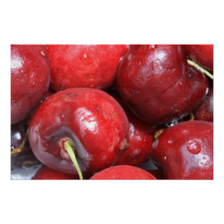 Cherries on Canvas Print