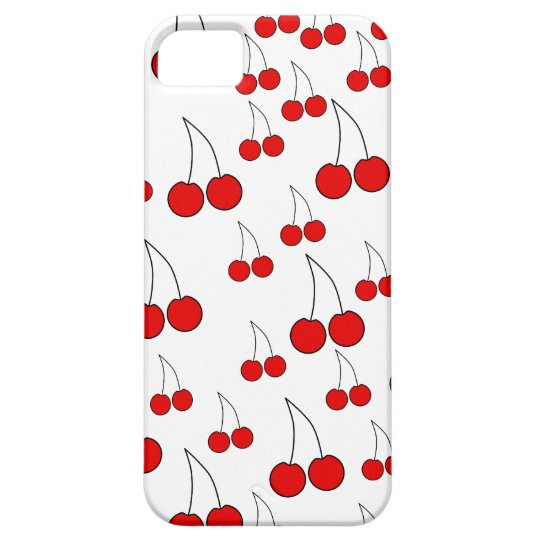 Cherries Pattern. iPhone SE/5/5s Case