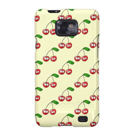 Cherries Pattern Samsung Galaxy S Case