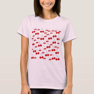 Cherries Pattern. T-Shirt