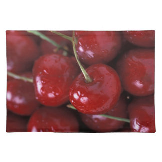 Cherries placemat cloth placemat