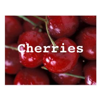 Cherries postcard