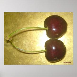 Cherries Print