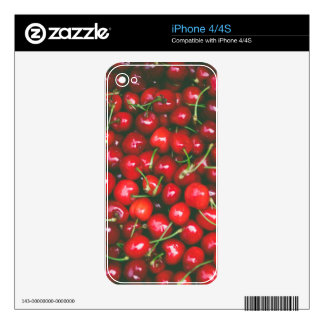 Cherries... Skins For The iPhone 4