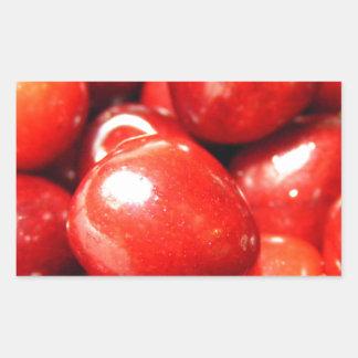 Cherries Rectangular Sticker