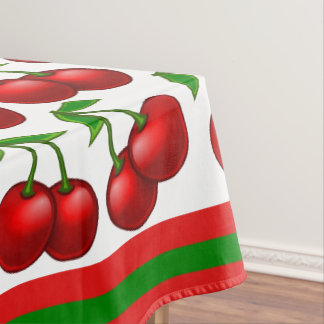 Marvelous Cherries Tablecloth,cherry Tablecloth