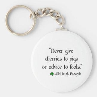 Cherries to pigs key chain
