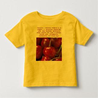 Cherries toddler shirt