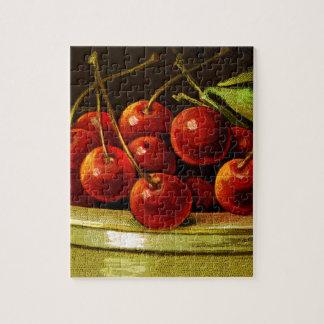CHERRIESjust a bit of fun with cherries! Jigsaw Puzzle