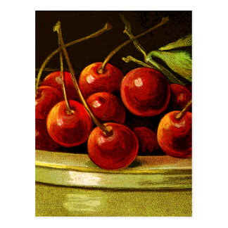 CHERRIESjust a bit of fun with cherries! Postcard
