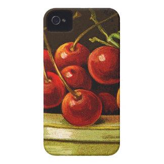 ¡CHERRIESjust un pedazo de la diversión con las iPhone 4 Case-Mate Cárcasas
