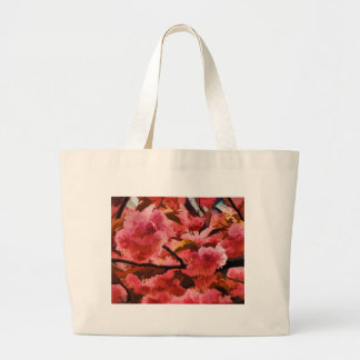 Cherrry Blossoms in NYC Large Tote Bag