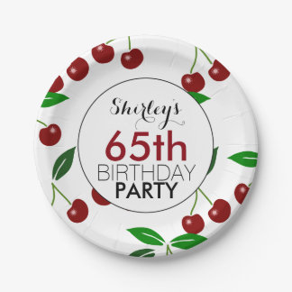65th birthday paper party supplies zazzle for 65th birthday party decoration ideas