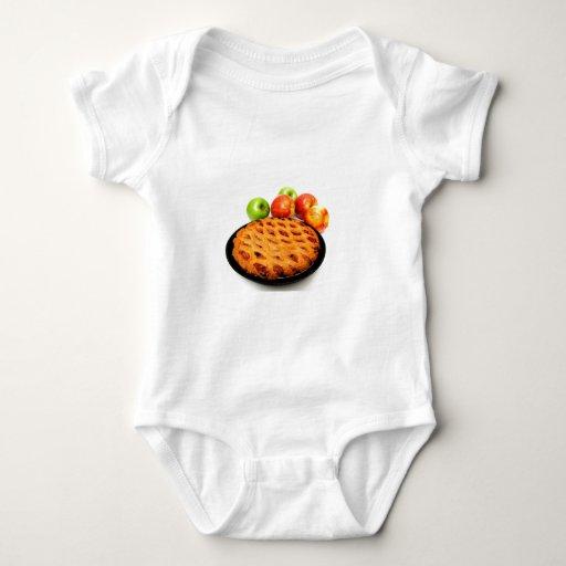 Cherry And Apple Pie Baby Bodysuit