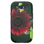 Cherry and Chocolate Sunflower Galaxy SIII Case