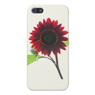 Cherry and Chocolate Sunflower Cover For iPhone 5