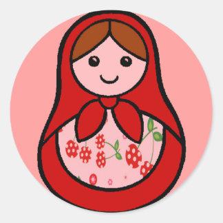 Cherry Babuska Stickers