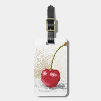 cherry bag tag