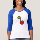 Cherry Baseball Shirt Playera