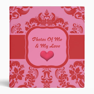 Cherry Berry Delight with Square Nameplate Binder