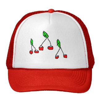 cherry berry trucker hat