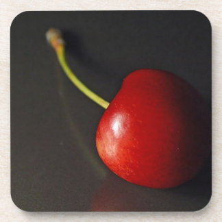 Cherry Beverage Coaster