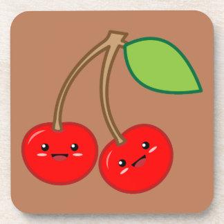 Cherry Beverage Coaster
