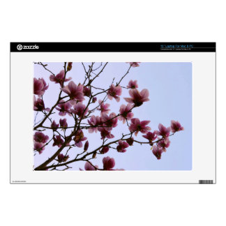 Cherry Bloom Laptop Skin For Mac & PC