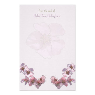 Cherry Blooms Stationery