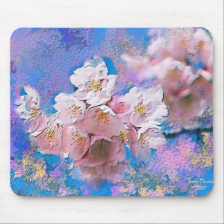 Cherry Blosoms Mouse Pad