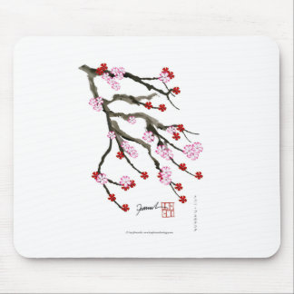 cherry blossom 10 Tony Fernandes Mouse Pad