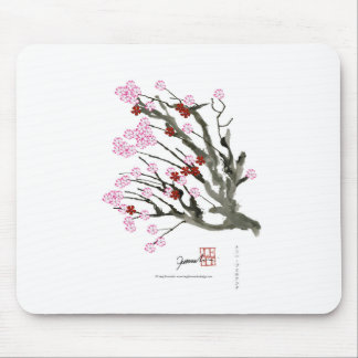 cherry blossom 11 Tony Fernandes Mouse Pad