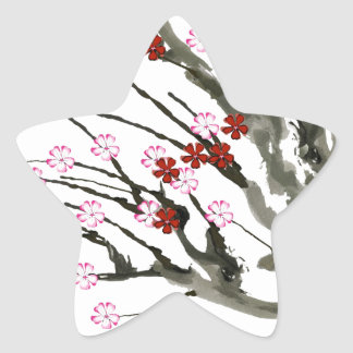 cherry blossom 11 Tony Fernandes Star Sticker