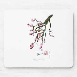 cherry blossom 12 Tony Fernandes Mouse Pad