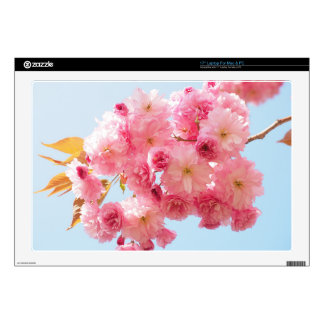 "Cherry Blossom 17"" Laptop Skin"