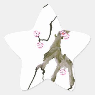 Cherry Blossom 17 Tony Fernandes Star Sticker