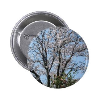 cherry blossom 1 2 inch round button