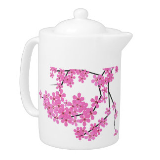 Cherry Blossom 44 oz (approx 5) Beverage Pitcher