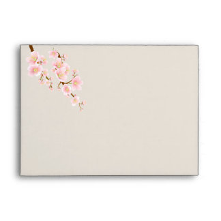 Cherry blossom A7 Greeting card Envelope