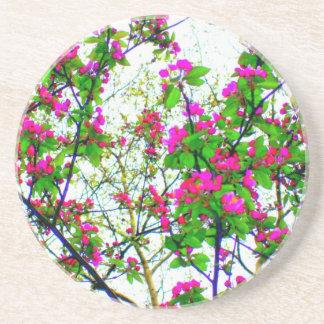 'Cherry Blossom Abstract' Coaster