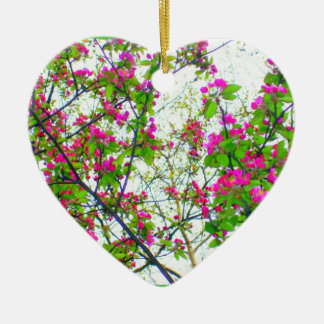 'Cherry Blossom Abstract' Ornament