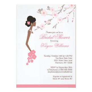 african american bridal shower invitations & announcements | zazzle, Wedding invitations